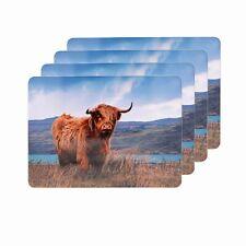 Leonardo - HIGHLAND COO COW TABLE PLACE MATS - Set of 4