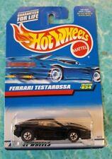Hot Wheels #834 Black Ferrari Testarossa w/Blackwall Wheels