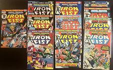 Marvel Premiere Iron Fist Lot Of 11. #15 + 16-25 1st App Appearance FV-FV. Key