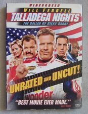 Talladega Nights: The Ballad of Ricky Bobby (DVD, 2006) Unrated VG Condition