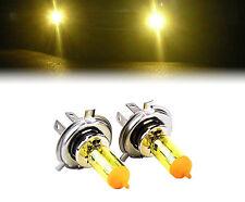 Amarillo Xenon H4 100w bombillas para caber Porsche 911 Modelos