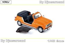 Renault 4 Plein Air de 1968 Orange NOREV - NO 510044 - Echelle 1/43