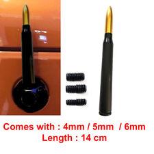 Proiettile Calibro 50 CAL Antenna Nero