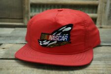 Vintage NASCAR RACING SnapBack Trucker Hat Cap Patch SWINGSTER Made In USA