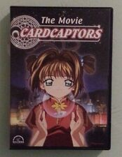 CARDCAPTORS THE MOVIE   DVD  includes chapter insert