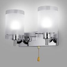 Glass LED Light Wall Sconce Lamp Lighting Fixture Bedroom Indoor Decor Modern