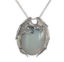 Halsketten und Anhänger aus Sterlingsilber mit Mondstein