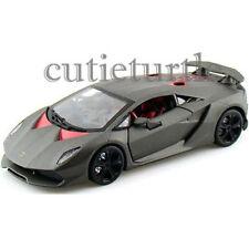Bburago Lamborghini Sesto Elemento 1:24 Diecast Model Car 24061 Matte Grey