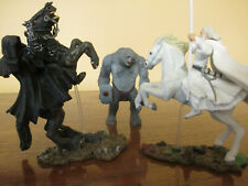 Lord of the Rings lot of 3 figures TOYBIZ mini's Horses