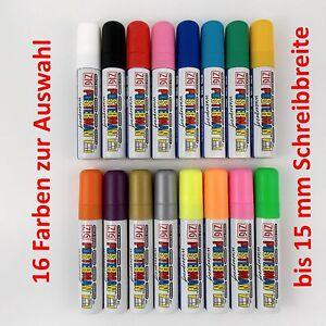 ZIG Posterman Kreidemarker Tafelstift Flüssigkreide 15 mm Spitze - Farbe wählen