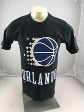 VINTAGE Pro Player brand Orlando Magic black Tshirt Youth XL 18/20 USA MADE