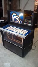 ROCKOLA 474 SYBARIS VINYL JUKEBOX MECHANICALLY WORKING PROJECT READ DESCRIPTION