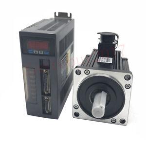 1.8KW 6NM AC 220V Servo Motor NEMA42 Drive Kit 3000rpm with 5M Encoder Cable CNC