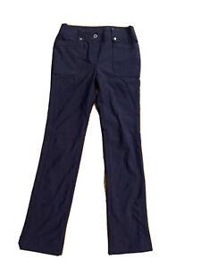 Womens Ping Golf Pants Trouser Small Purple Slim Leg Pull On
