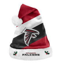 Official NFL Atlanta Falcons Team Colors Winter Christmas Santa Hat