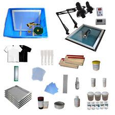Silk Screen Printing Press Materials Package Ink Coater Printing Kit DIY Shirt