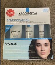 La-Roche Posay Effaclar 3 Step Skin Care System EXP 2021+ NEW IN BOX