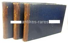 3 Bände: Meyers Universum mit ca. 130 Stahlstichen, Band 5, 6 und 7