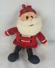 Rudolph Island of Misfit Toys Doll Plush 1999 Stuffins Santa Claus