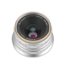 7artisans 25mm F1.8 APS-C Manual Fixed Lens 12 Blades for Fujifilm X-A1 X-A10