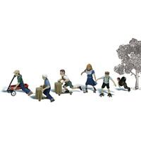 Woodland Scenics A1921 HO/OO Gauge Playtime Figures