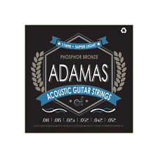 Adamas Acoustic Guitar Strings Super Light .011-.052