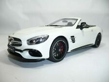 MERCEDES-BENZ SL sl63 AMG 2017 DIAMANTWEISS 1:18 GT-SPIRIT spacciatori VERY RARE