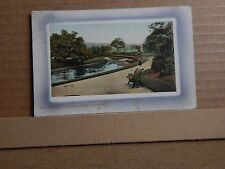 Postcard The Bridge Victoria Park Nelson Lancashire  posted 1912