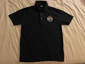Titanic Brewery Black Polo Shirt Plum Porter XL New