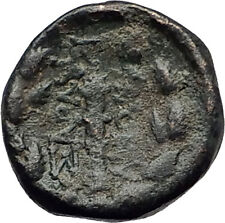 SARDES in Lydia 133BC Authentic Ancient Greek Coin APOLLO & HERCULES CLUB i62396