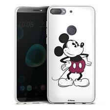 HTC Desire 12 Plus Silikon Hülle Case Handyhülle - Mickey Mouse - Retro