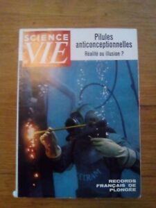 Science et vie N°552 1963 pilules  anticontraceptive records français de plongée