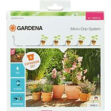 Gardena Mikro Drip System Blumentöpfe - Verlängerung Set - Balkon Bewässerung