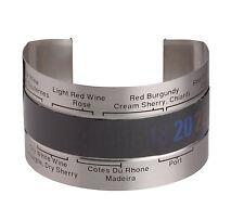 Bar Craft funda para botella de vino con Función Termómetro en estuche regalo