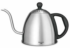 Osaka 1 Liter Gooseneck Drip Kettle for IH ranges and electric stove top ONLY
