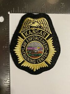 KANSAS LAW ENFORCEMENT TRAINING CENTER PATCH