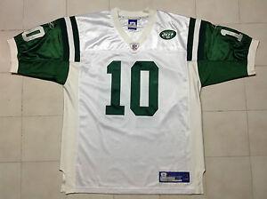 CHAD PENNINGTON  # 10 New York Jets Football NFL Reebok Jersey size 48