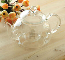 600ml Heat-Resistance Glass Teapot,Pyrex Coffee pot with filter,B07