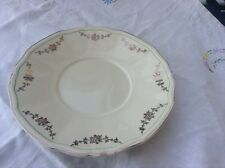Alfred Meakin bread and butter plate gold swags Green ring off edge MEA278