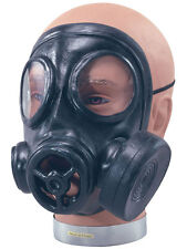 Wartime Rubber Gas Mask Halloween 1940s Respirator Fancy Dress Accessory New