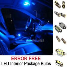 INTERIOR LED Lights Bulbs Package roof KIT BLUE FIT VW PASSAT B5 97-00