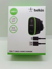 Belkin 2.1AMP 10w Universal Fast Charger USBC USBA Cable Samsung Huawei Sony LG