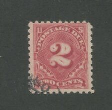 1916 US Postage Due Stamp #J60 Used F/VF Partial Postal Cancel