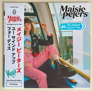 MAISIE PETERS * YOU SIGNED UP FOR THIS * ASSAI OBI + WHITE VINYL EXCLUSIVE * BN!