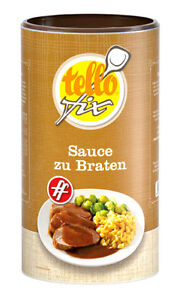 (EUR 11,13/kg) Sauce zu Braten ff (800 g) Tellofix dunkle Bratensoße