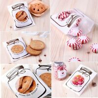 100pcs Self-adhesive Lovely Bottle Cookies Bag Wedding Birthday Party Supplies