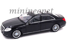 WELLY 24051 MERCEDES BENZ S CLASS 1/24 DIECAST MODEL CAR BLACK