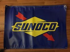Sunoco Banner Vinyl New 4 Foot x 3 Foot Free Shipping!!!!