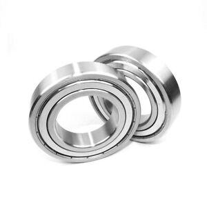 10PCS Minature Model Roller Bearing Deep Grove Rubber/Metal Seal 2RS/ZZ 624-6205