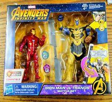 Marvel Avengers Iron Man VS Thanos Infinity war Battle Set  NEW IN BOX
